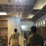 commercial ac system installation measurement